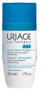 Uriage - Deodorante Roll-on  Power3 Confezione 50 Ml