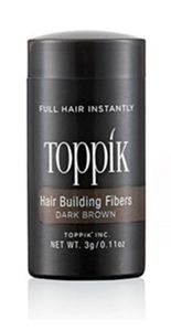 Toppik- Hair Building Fibre Colore Dark Brown Confezione 3 Gr
