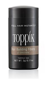 Toppik - Hair Building Fibre Colore Light Brown Confezione 3 Gr