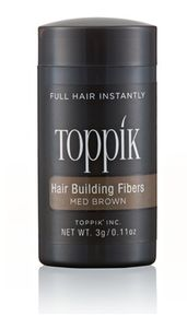 Toppik -Hair Building Fibre Colore Medium Brown Confezione 3 Gr