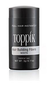 Toppik - Hair Building Fibre Colore White Confezione 3 Gr