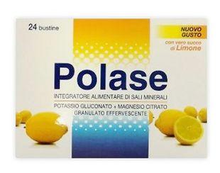 Polase - Integratore Di Sali Minerali Gusto Limone Confezione 24 Bustine