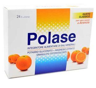 Polase - Integratore Di Sali Minerali Gusto Arancia Confezione 24 Bustine