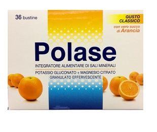 Polase - Integratore di Sali Minerali Gusto Arancia Confezione 36 Bustine