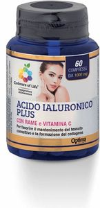 Optima naturals - Colours Of Life Acido Ialuronico Plus Confezione 60 Compresse