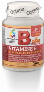 Optima naturals - Colours Of Life Vitamina B Confezione 60 Compresse