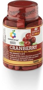 Optima Naturals - Colours Of Life Cranberry Puro Estratto Confezione 60 Compresse