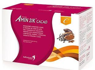 Amin 21k - Italfarmacia Gusto Cacao Confezione 21 Bustine Da 15,61 Gr