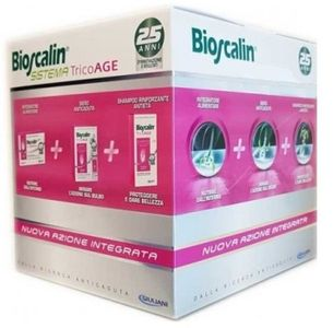 Bioscalin - Tricoage 45+ Promo Compresse 30 + Fiale 10 + Shampoo 200 Ml