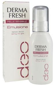 Dermafresh - Emulsione Deodorante Pelle Sensibile Spray Confezione 75 Ml
