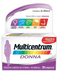 Multicentrum - Donna Confezione 30 Compresse