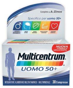 Multicentrum - Uomo 50+ Confezione 30 Compresse