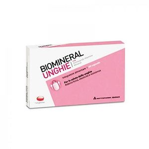 Biomineral - Unghie Confezione 30 Capsule