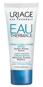 Uriage - Eau Thermale Crema Leggera Idratante Spf 20+ Confezione 40 Ml
