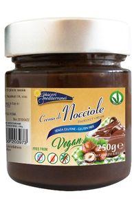 Piaceri Mediterranei - Crema di Nocciole Senza Glutine Confezione 250 Gr