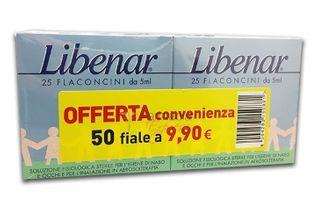 Libenar Iso - Confezione 25 Fiale + 25 Fiale (Scadenza Prodotto 31/12/2020)