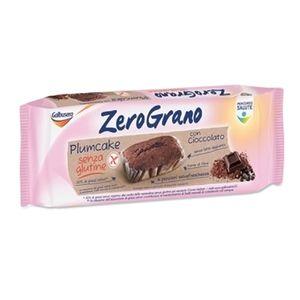 Galbusera - Zerograno Plumcake Cioccolato Senza Glutine Confezione 4 Pezzi (Scadenza Prodotto 16/03/2021)