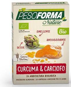 Pesoforma - Nature Curcuma e Carciofo Bio Confezione 30 Compresse