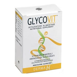 Glycovit - Derma H Integratore Capelli e Unghie 64 Compresse