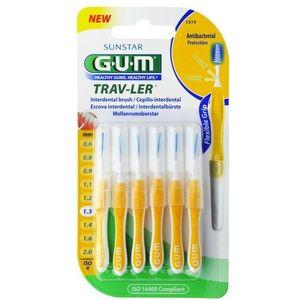 Gum - Travel 1514 Scovolino 1.3 Confezione 6 Pezzi