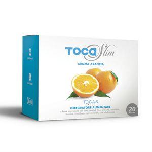 Tocas - Tocaslim Gusto Arancia Confezione 20 Bustine Da 19 Gr
