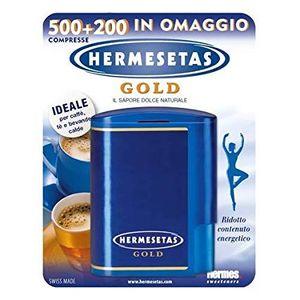 Hermesetas - Gold Confezione 500 + 200 Compresse