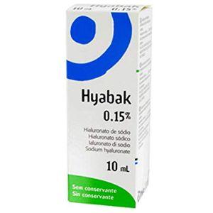 Hyabak - Soluzione Oftalmica Confezione 10 Ml