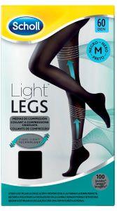 Scholl - Light Legs Collant 12 Mm/Hg Colore Nero Taglia M