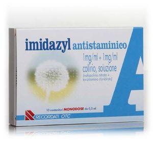 Imidazyl - Antistaminico Collirio Confezione 10 Fiale