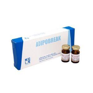 Adipobreak - Forte Fiale Soluzione A Base Di Fosfatidilcolina Confezione 6 Fiale Da 5 Ml