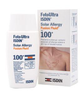 Isdin - Ultra Solar Allergy Fluid Spf 100 Confezione 50 Ml