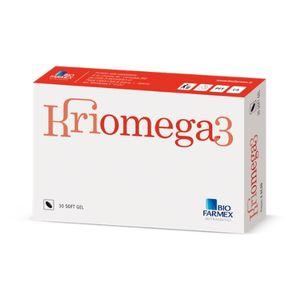 Kriomega 3 - Confezione 30 Capsule Softgel