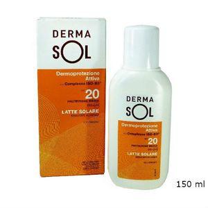 Dermasol - Latte Solare Spf 20 Confezione 150 Ml