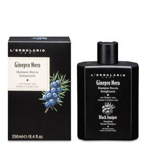 L'Erbolario - Ginepro Nero Shampoo Doccia Energizzante Confezione 250 Ml