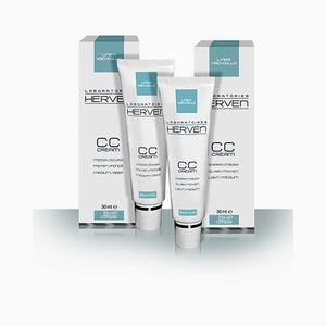 Laboratori Herven - Linea Viso Collo CC Cream Medio Chiara Confezione 30 Ml