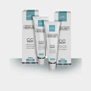 Laboratori Herven - Linea Viso Collo CC Cream Medio Scura Confezione 30 Ml