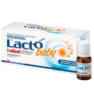 Lacto - Baby Fermenti Lattici 3 Miliardi Confezione 12 Flaconi