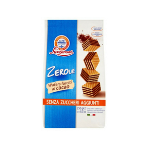 Lazzaroni - Zerole Wafers alla Nocciola Senza Glutine Senza Zucchero Confezione 175 Gr (Scadenza Prodotto 15/10/2021)