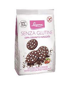 Lazzaroni - Frollini Cacao Nocciole Senza Glutine Confezione 200 Gr