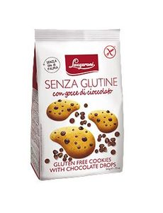 Lazzaroni - Frollini Gocce Di Cioccolato Senza Glutine Confezione 200 Gr