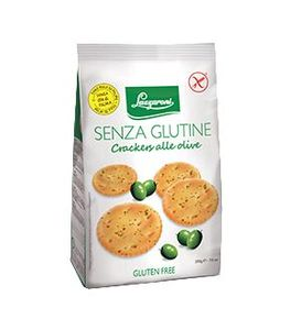 Lazzaroni - Cracker Senza Glutine Olive Confezione 200 Gr (Scadenza Prodotto 15/04/2021)