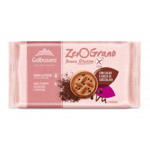 Galbusera - Zerograno Biscotti Con Gocce Di Cioccolato Senza Glutine Confezione 220 Gr