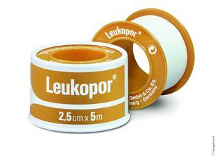 Leukopor - Rocchetto Di Cerotto Confezione 2.5X500 Cm