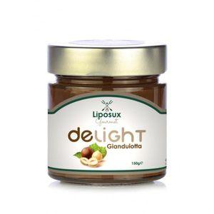 Liposuxten - Delight Gianduiotta Confezione 150 Gr (Scadenza Prodotto 28/03/2021)
