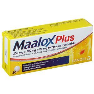 Maalox - Plus Confezione 30 Compresse Masticabili
