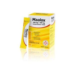 Maalox - 460+400 Mg Confezione 20 Bustine