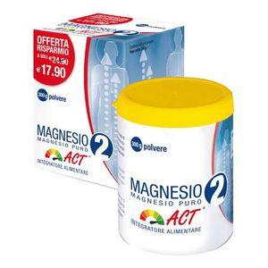 Magnesio 2 Act - Puro Confezione 300 Gr
