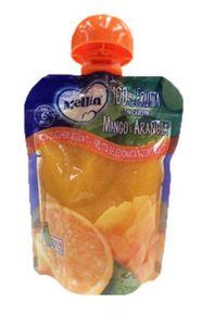Mellin - Pouches 100% Arancia e Mango Confezione 90 Gr (Scadenza Prodotto 08/05/2021)