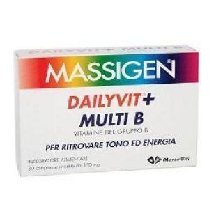 Marco Viti - Massigen Dailyvit + Multi B Confezione 30 Compresse