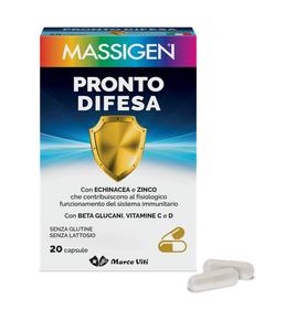 Marco Viti - Massigen Pronto Difesa Confezione 20 Capsule